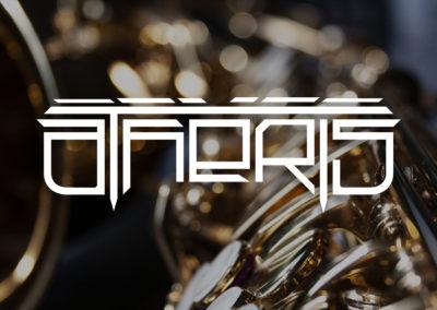 Création logo unique original groupe de musique jazz
