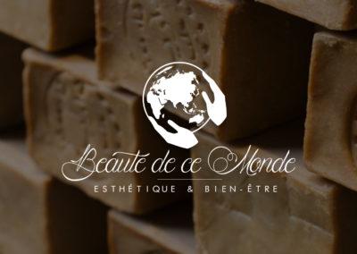 Création logo unique original institut de beauté