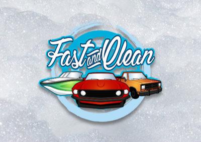 Création logo unique original car wash lavauto