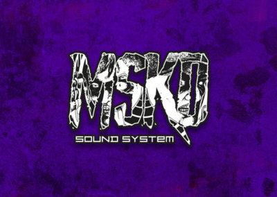 Création logo unique original sound system musique techno