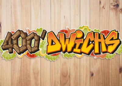 Création de logo original pour snack