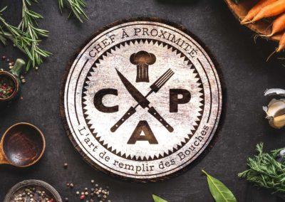 Création de logo chef cuisinier