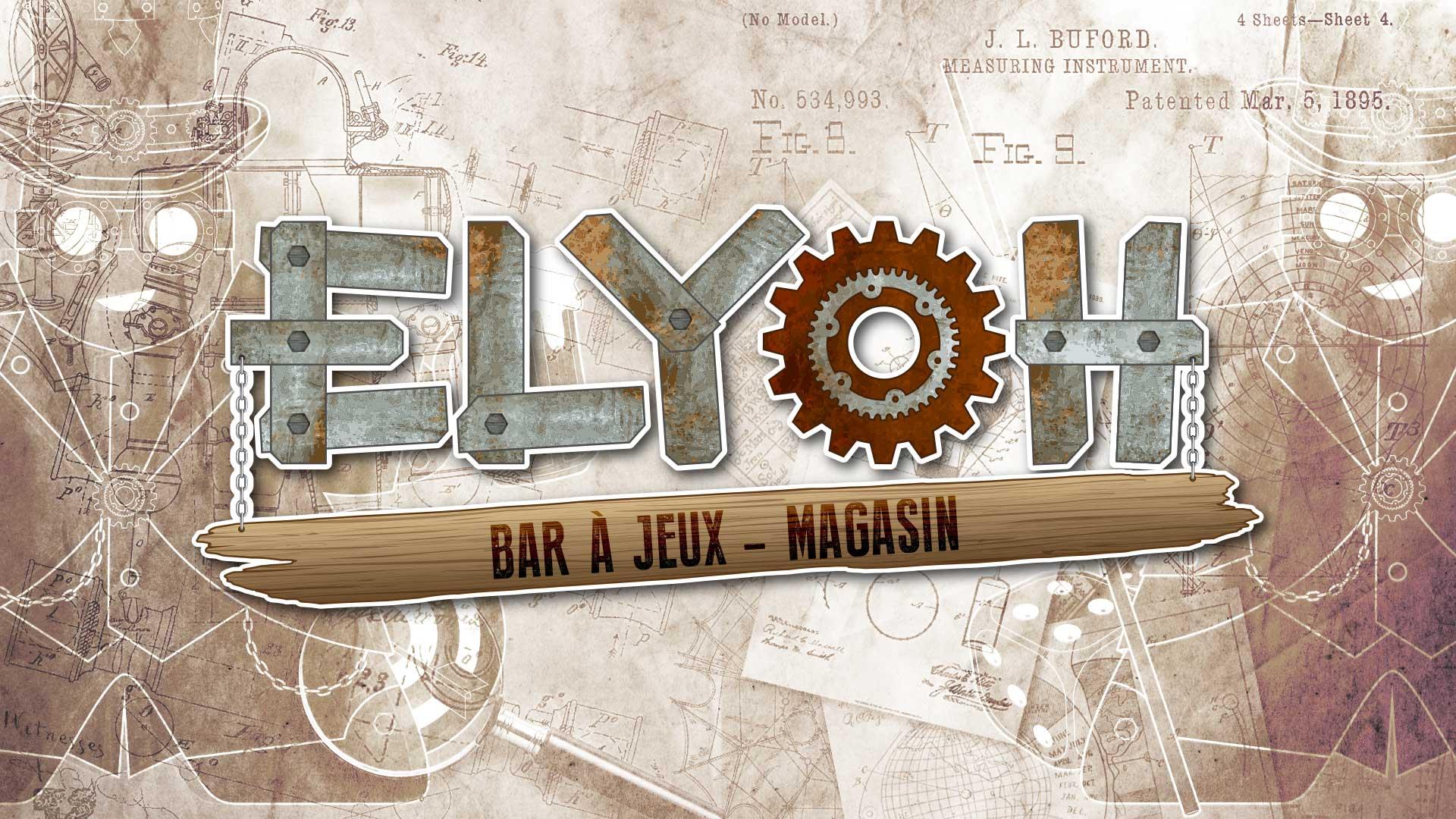 Création de logo bar à jeux