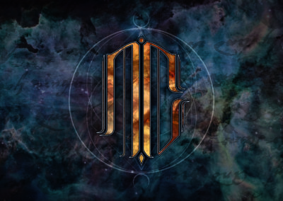 Création logo moderne pour groupe de metal Alpes-Maritimes