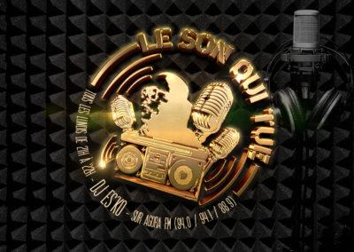 Création de logo émission rap