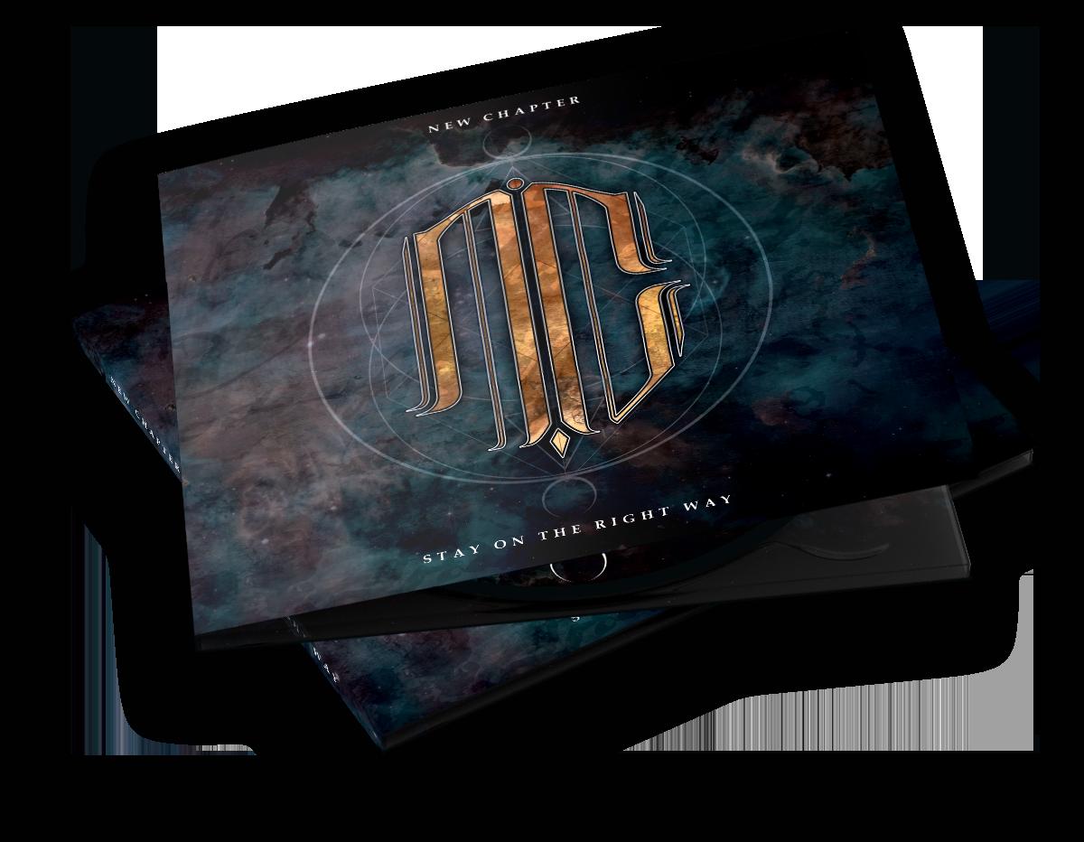 Réalisation artwork digipack entier pour groupe de metal Alpes-Maritimes